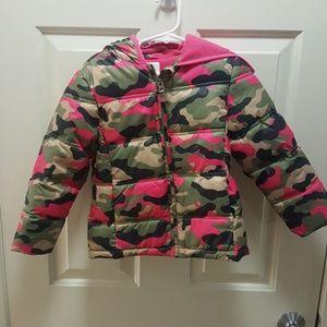 Girl's Camo Jacket